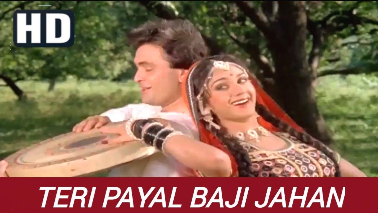 Download Teri Payal Baji Jahan - Bade Ghar Ki Beti - (1989) Full HD Vodeo Song