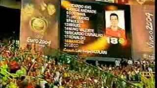 C. Ronaldo Warm Up EURO 2004