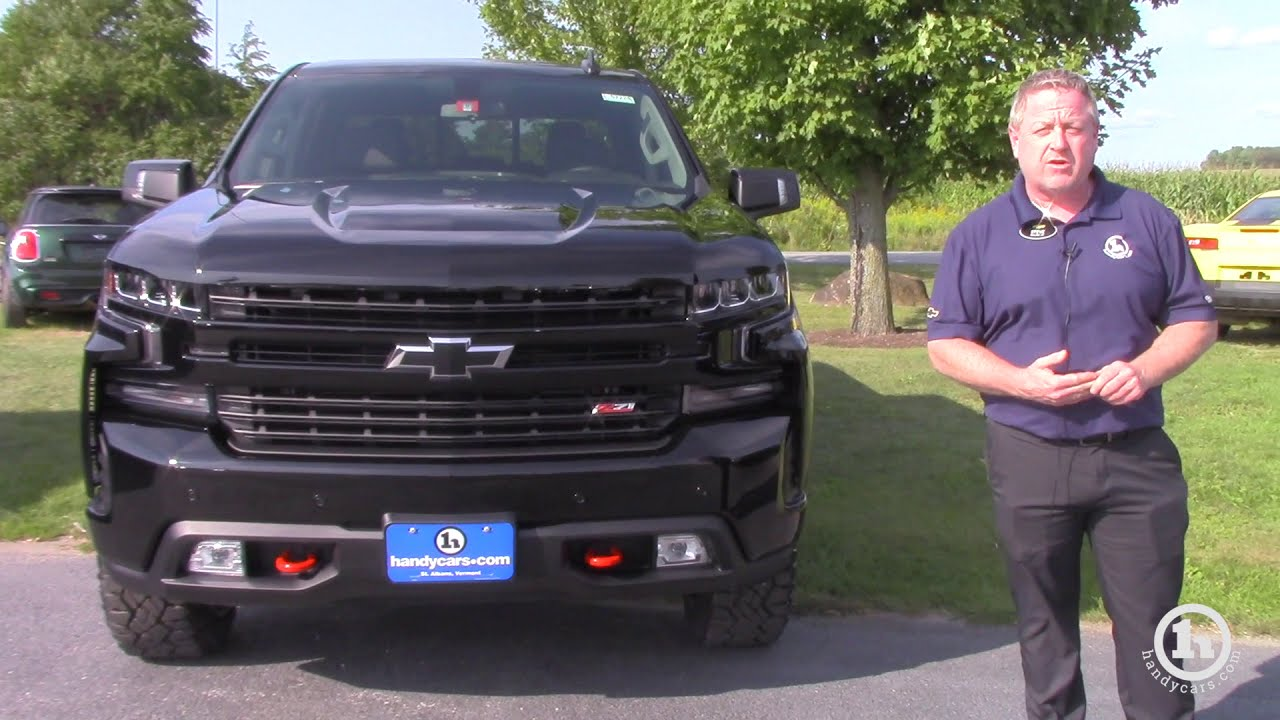 All New 2019 Chevy Silverado 1500 Z71 Trail Boss From Steve Youtube