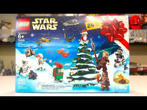 LEGO Star Wars 75245 Advent Calendar Review! (2019)