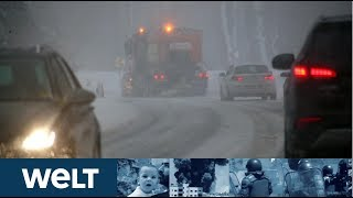 BAYERN UND ÖSTERREICH: Eine weitere Woche mit heftigen Schneefällen erwartet