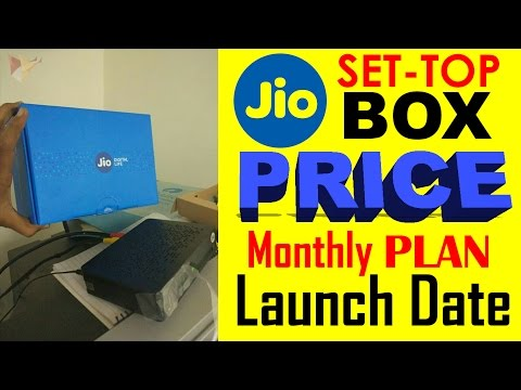 Reliance Jio Set Top Box | DTH OFFER Launching in INDIA | Features Update | Price & Unboxing | DD