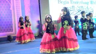 A0008 Nasheed - Montessori kids performance on Bismillah Nasheed