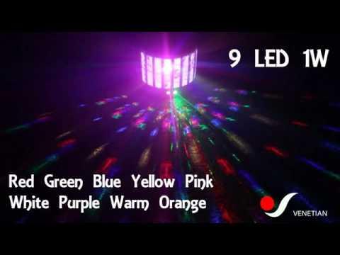 EF510 VENETIAN LED + LASER