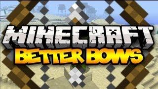 Minecraft: BETTER BOWS! (Better Archery) | Mod Showcase