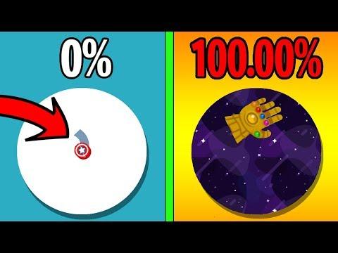 PAPER.IO 3 100% WORLD RECORD! UNLOCKING RARE THANOS HAND! 100% MAP CONTROL in PAPER.IO 3 ALL SKINS