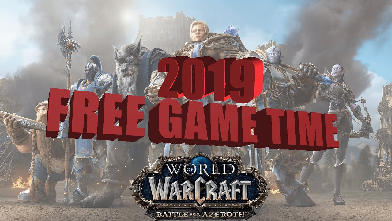 How To Get Free WoW Game Time - YouTube