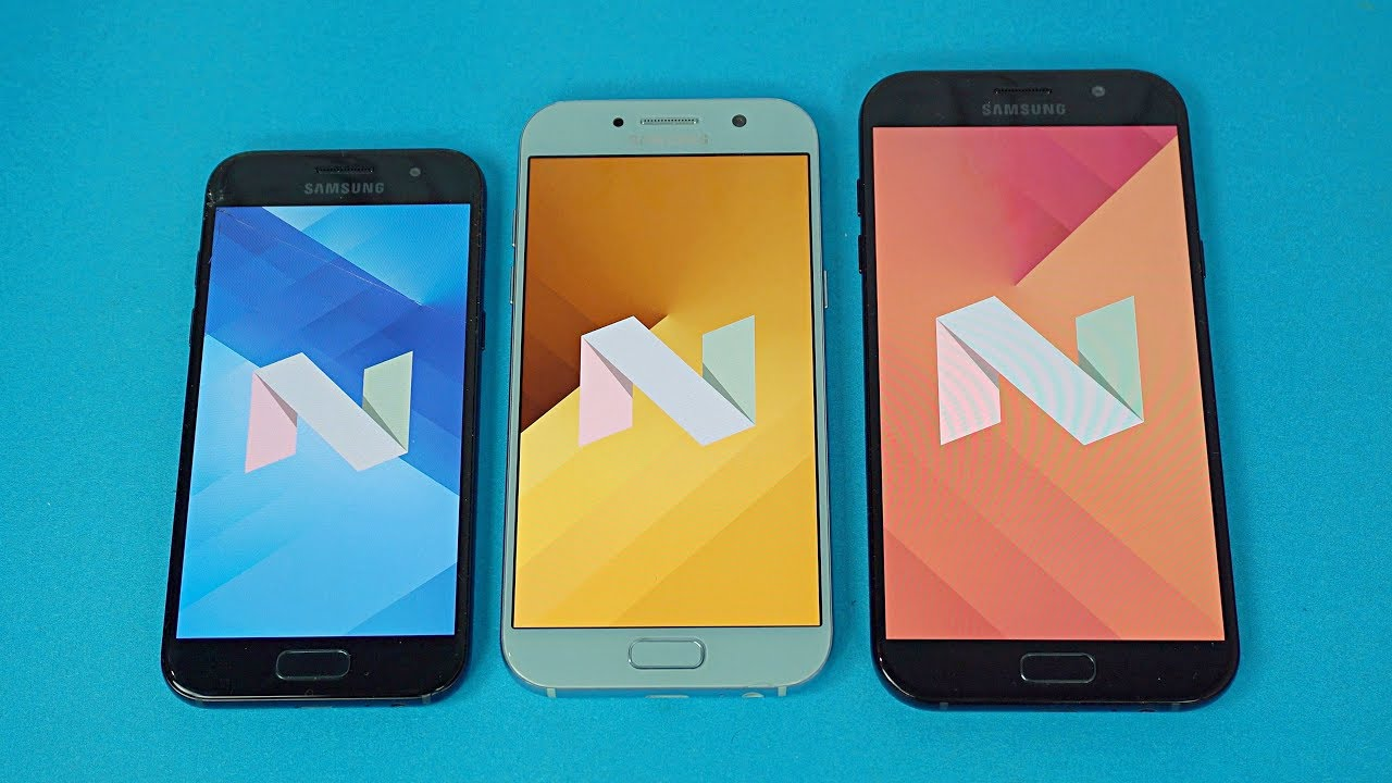 Samsung Galaxy A5 A7 A3 2017 OFFICIAL Android 70 Nougat Update Review