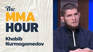 UFC 223: Khabib Nurmagomedov Reacts to Tony Ferguson's injury, Max Holloway stepping in
