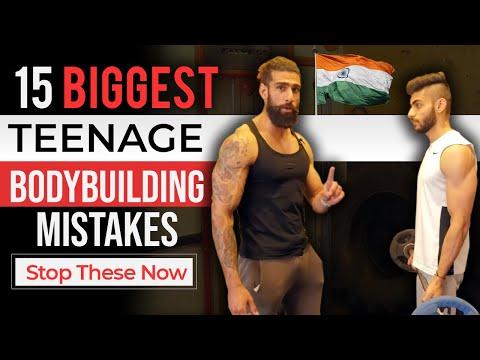 TEENAGE BODYBUILDING MISTAKES Part 1   15 Best Teen Bodybuilding Tips for Beginners