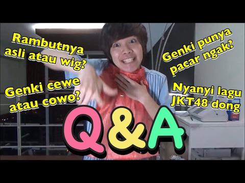 Challenge Tanya Jawab Bersama Genki!! 全部インドネシア語で答える質問コーナー!