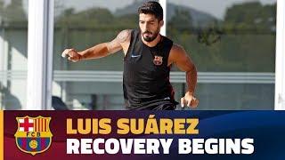 سواريز يقترب من التعافي قبل موعده