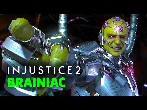 Injustice 2 - Shattered Alliances Part 5 Official Brainiac Showcase