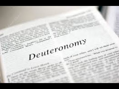 Deuteronomy 1 Daily Bible Reading with Paul Nison