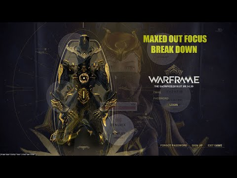 FOCUS Breakdown | ALL MAXED 2018 | Warframe
