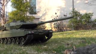 LEOPARD 2A6 TAMIYA RC Super Tank HD ACTION