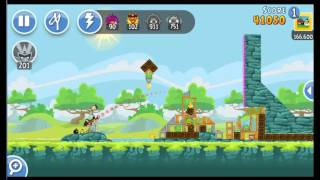 Angry Birds Friends Tournament ● LEVEL 4 ● 177 K HD ● Week 201 ●  POWER UP