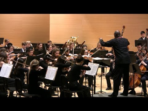 Symphony in d minor by Cesar Franck - YPCO 2018, CMS Webster University