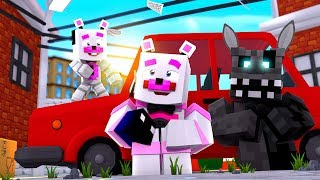 Hide and Seek At Freddy's Pizza World! Minecraft FNAF Roleplay