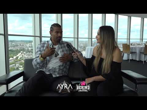 """DAVID HAYE : """"DEONTAY WILDERS POWER SURPASSES ANY HUMAN HES BEEN IN THE RING WITH""""   CANELO GGG 2"""