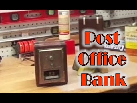 take an antique post office door and make a bank great for gifts or to make some extra cash if you are looking for one to buy or looking to buy a buying 6600000 office space maze