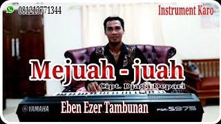 MEJUAH - JUAH _ Instrument Karo Versi Keyboard Yamaha PSR S 975   Eben Ezer Tambunan