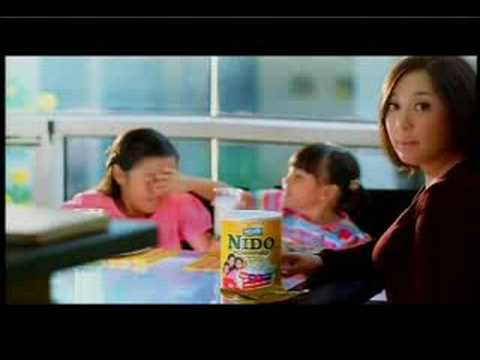 NIDO (new) Sharon Cuneta with Frankie and Miel