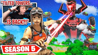 REACTING TO GALACTUS FORTNITE LIVE EVENT (Season 5 Fortnite)