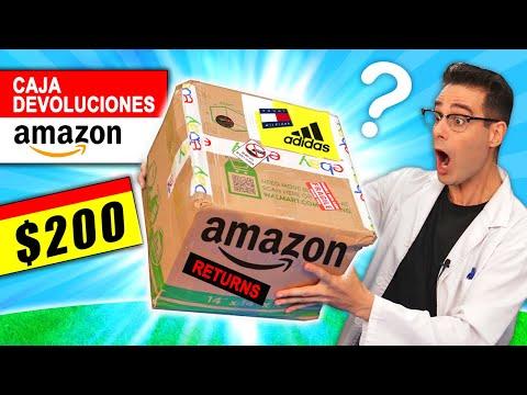 Pagué $200 por CAJA de AMAZON DEVOLUCIONES 📦❓ Caja Misteriosa   Curiosidades con Mike