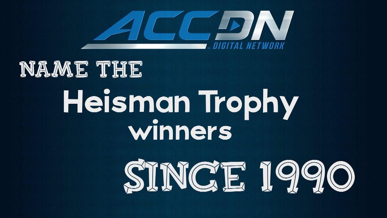 2019 Heisman Trophy Award - TV Schedule, Nominees, Winners
