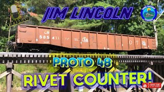 MRT Video Podcast #8-Jim Lincoln's Proto 48 Rivet Counting Journey