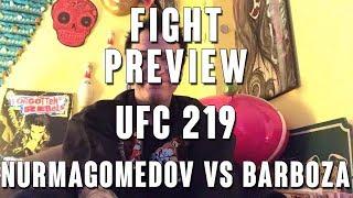 Video UFC 219: Nurmagomedov vs Barboza Fight Preview download MP3, 3GP, MP4, WEBM, AVI, FLV November 2018