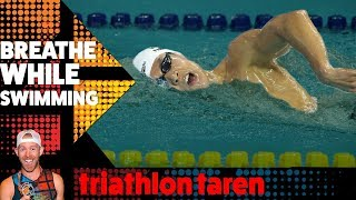 TRIATHLON SWIM BREATHING pattern: 2-stroke BREATHING vs Bilateral BREATHING