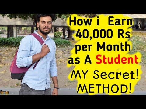How I Earn Money As A STUDENT! My Secret Method!🔥