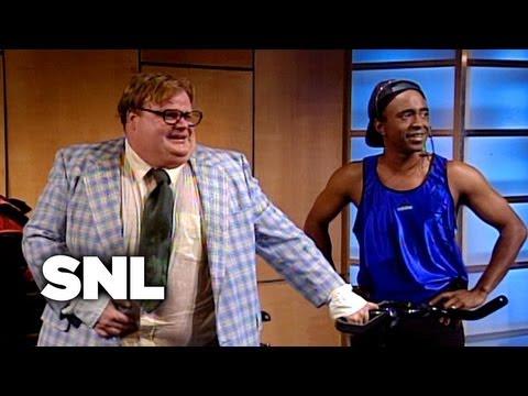 Matt Foley at the Gym – Saturday Night Live
