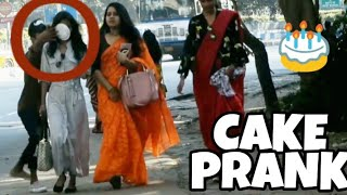 PIE IN THE FACE - PRANK ON GIRLS || PRANK IN INDIA - DANGEROUS PRANK EVER || BY - MOUZ PRANK