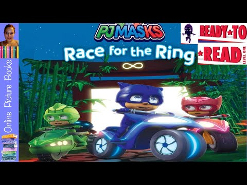 PJ Masks Race For The Ring Book   Online Picture Books   Online Kids Books   Kids Learn To Read