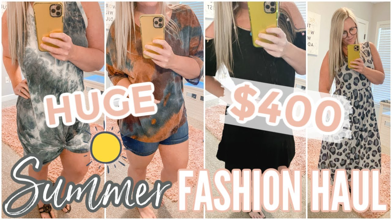HUGE SUMMER FASHION TRY ON HAUL // SUMMER MUST HAVES 2020 // SHOPPING HAUL