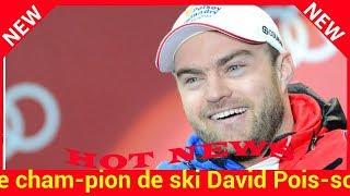 Le champion de ski David Poisson est décédé à l'entraînement
