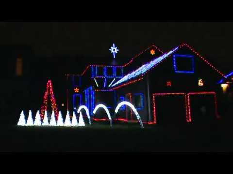 sandstorm techno 2010 mattsonlightscom computerized christmas lights - Computerized Christmas Lights