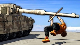 THE WORST WAY TO BE KILLED BY A TANK!? (GTA 5 Funny Moments)