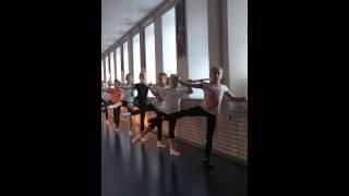 Открытый урок хореография Труд 12.14 Олюнин Н.В.