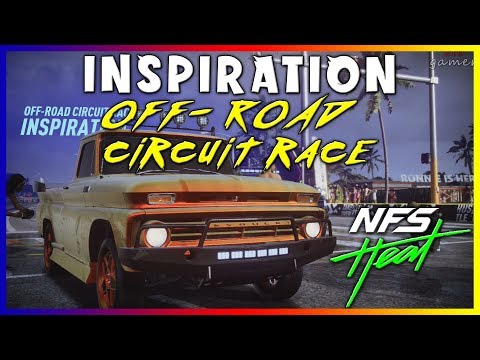 OFF ROAD CIRCUIT RACE INSPIRATION NEED FOR SPEED HEAT
