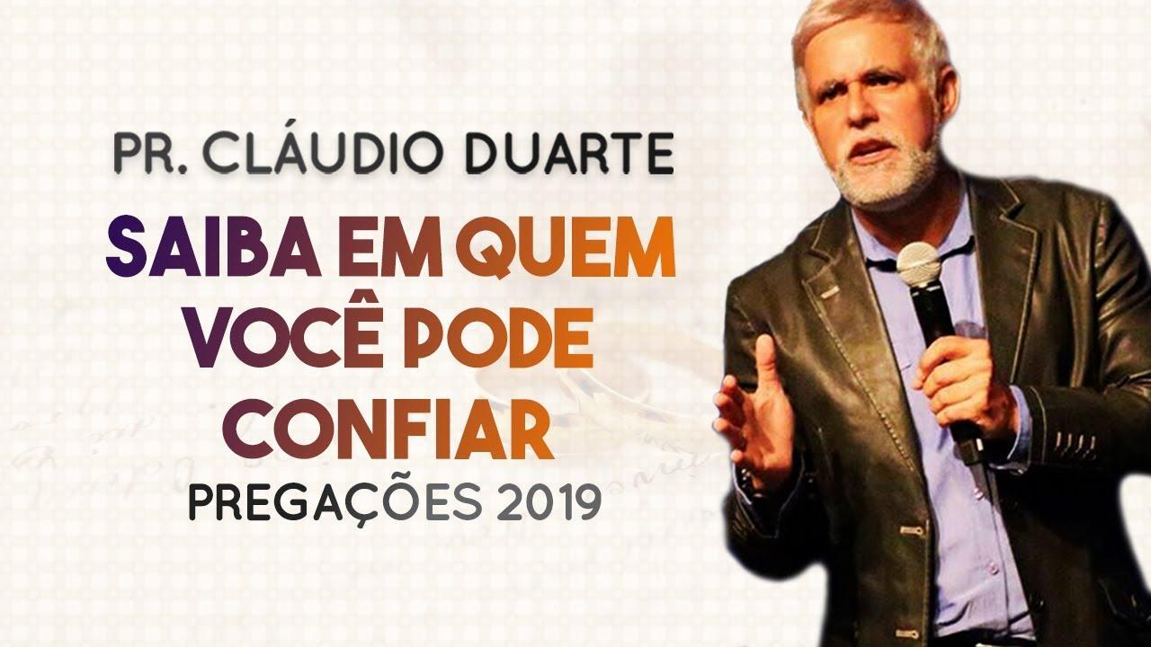 Pastor Cláudio Duarte - Saiba em quem você pode CONFIAR | Palavras de Fé