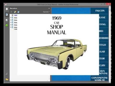 lincoln continental (1969) service manual wiring diagram youtube 2000 Lincoln Navigator Wiring-Diagram lincoln continental (1969) service manual wiring diagram