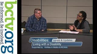 Living with a disability  1-18-19