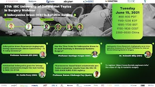 Indocyanine Green (ICG) in Bariatric Surgery