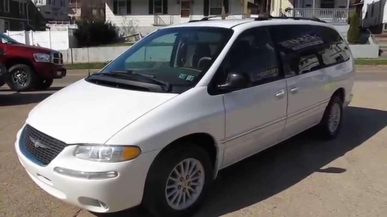 1999 Chrysler Town And Country Lx Minivan Elite Auto Outlet Bridgport Ohio