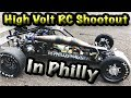 High Volt Rc Shootout Drag Racing In Philly (All Scales, 5th Scale Monsta!!!!): High Volt Rc Shootout, great drag racing, meeting up with new friends and seeing old friends, The New York crew came down to philly to hangout, RCPhillydragster, Botajell, Carlos, Full Throttle Komson, Foundry Rc, Luis (RC All Scales), Brooklyn Large Scales and friends!!!!