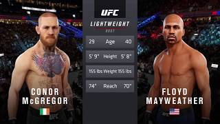 Floyd Mayweather vs Conor McGregor | EA Sports UFC 3 Gameplay